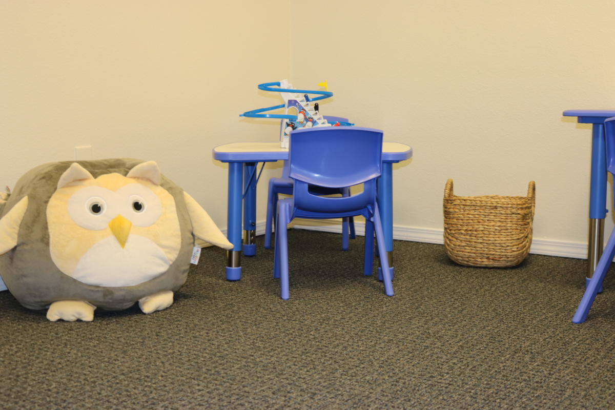 Kids Communicate Therapy Room